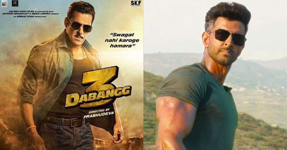Salman Khan's Dabangg 3 teaser to be attached with Hrithik-Tiger's War
