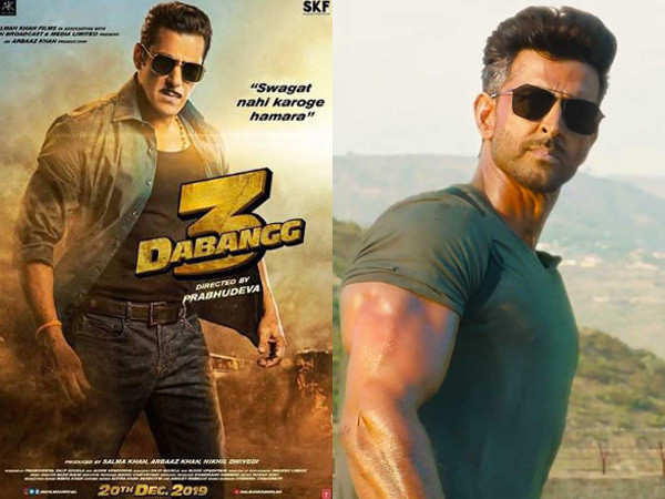 Salman Khan's Dabangg 3 teaser to be attached with Hrithik-Tiger's War