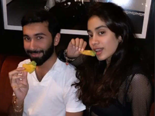 Pictures of Janhvi Kapoor straight from New York