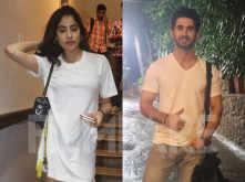 Janhvi Kapoor spotted with Dostana 2 co-star Lakshya