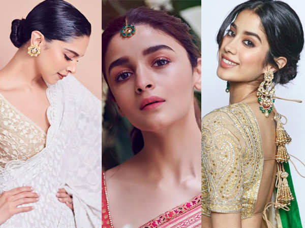 5 stars show you how to glam up in minimal jewellery this festive season