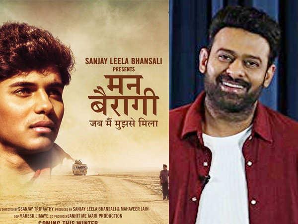 Prabhas launches the poster of Sanjay Leela Bhansali's Mann Bairagi