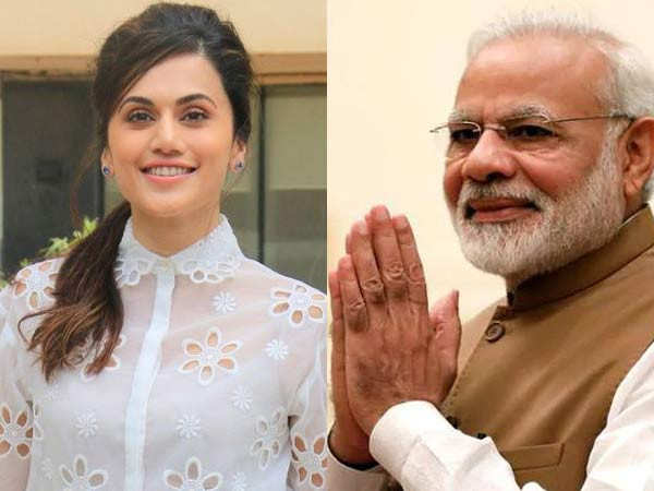 Here's what Taapsee Pannu wants to tell Prime Minister Narendra Modi