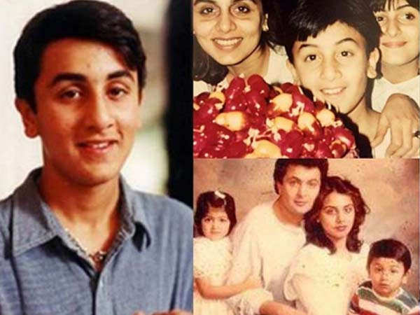 In Pictures: Taking you through birthday star Ranbir Kapoor's childhood