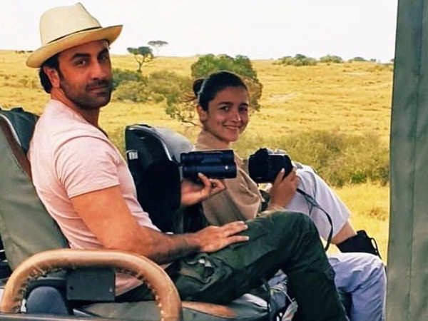 Photos: Ranbir Kapoor and Alia Bhatt are having a great time in Kenya