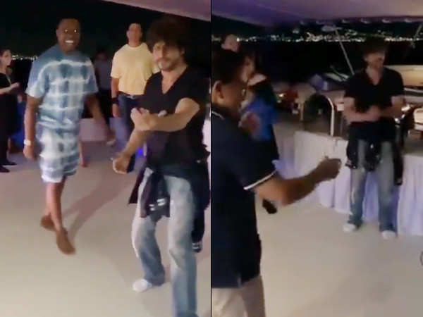 These videos of Shah Rukh Khan dancing at a cruise party are superb