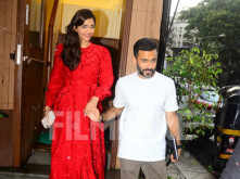 Sonam Kapoor Ahuja and Anand Ahuja look all things love in their latest outing