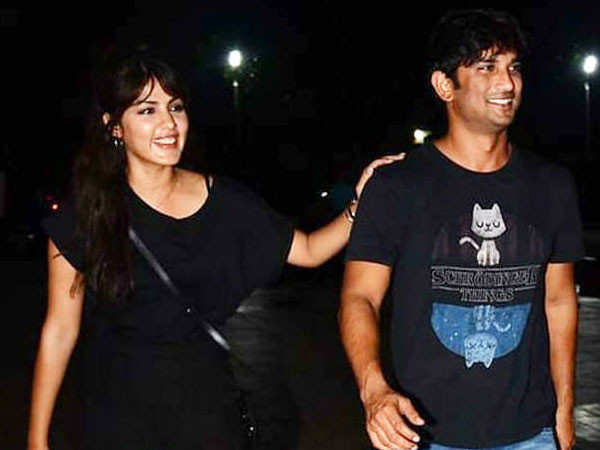 Lovebirds Sushant Singh Rajput and Rhea Chakraborty to be cast together in a film?
