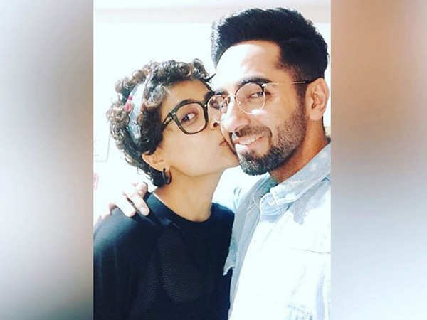 Tahira Kashyap wishes birthday star Ayushmann Khurrana with a kiss
