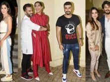 Anand Ahuja, Katrina Kaif, Vicky Kaushal, Arjun Kapoor and others watch The Zoya Factor