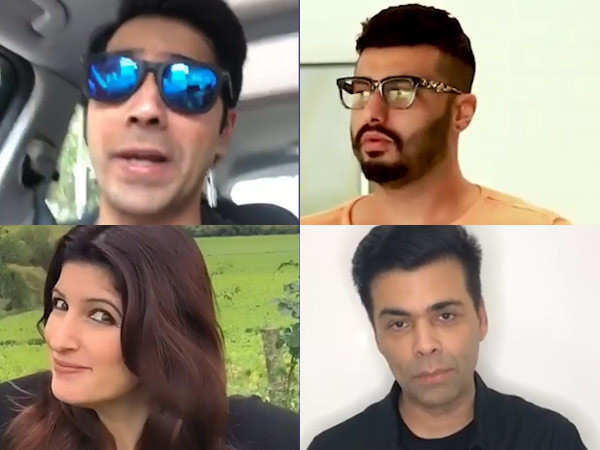 Varun Dhawan, Arjun Kapoor, Karan Johar reveal their lucky charms