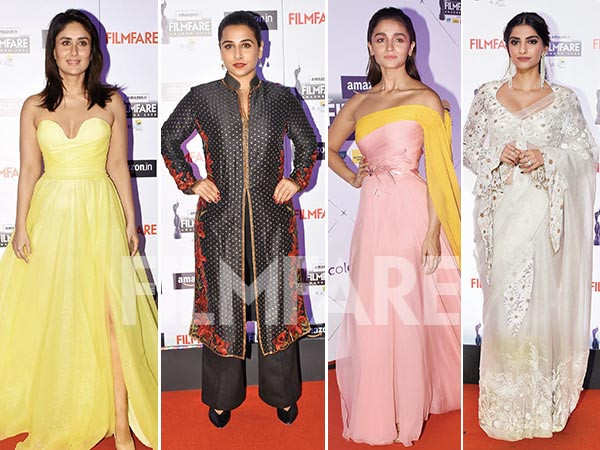 Here are the best dressed women from the 65th Amazon Filmfare Awards 2020