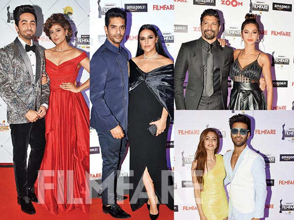 Couple couture at the 65th Amazon Filmfare Awards