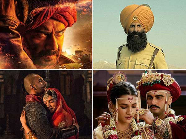 Filmfare Recommends: Top Bollywood  Historical Films Of This Decade