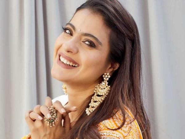 Kajol shares her laughing pictures on social media