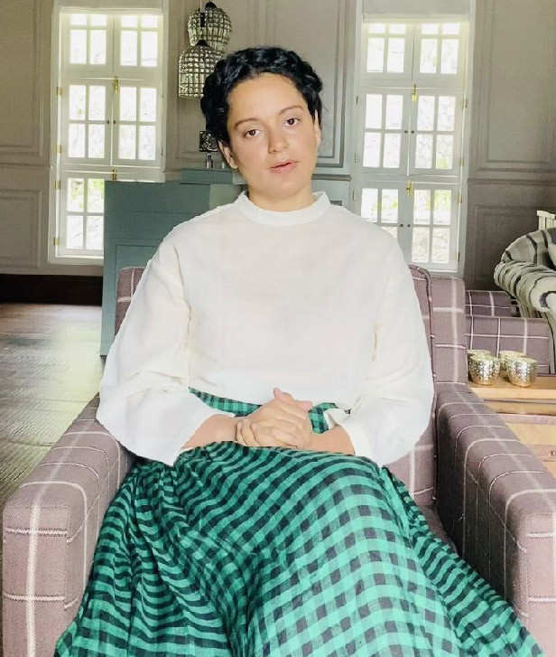 Kangana Ranaut Rangoli