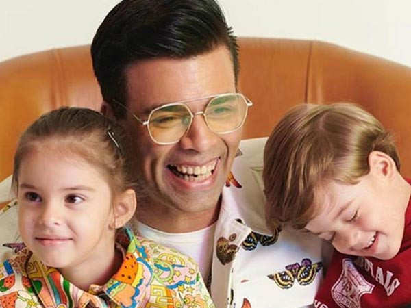 Karan Johar's kids are not impressed with his wardrobe