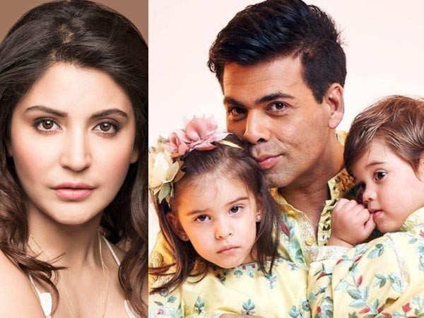 Anushka Sharma reacts to Karan Johar's video of Roohi and Yash