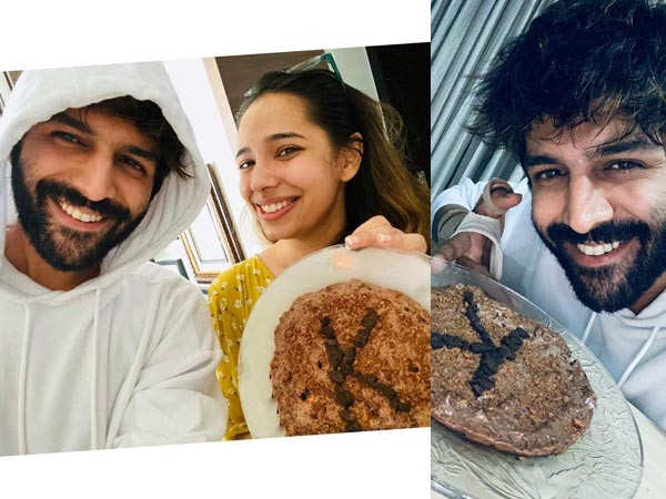 Kartik Aaryan shows off his baking skills