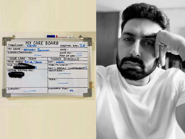 Abhishek Bachchan Seems to be Irritated with 'No Discharge Plans' from the Hospital