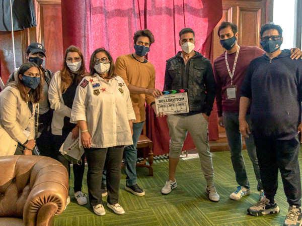 Akshay Kumar Starts Shooting for Bell Bottom in UK