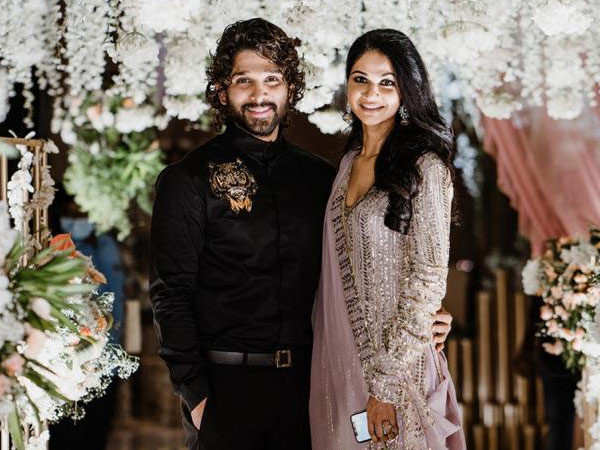 Allu Arjun and wife Sneha Reddy's latest outing in ethnic wear grabs attention