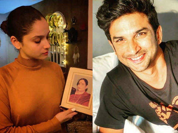 Ankita Lokhande shares a picture with Sushant Singh Rajput's mother
