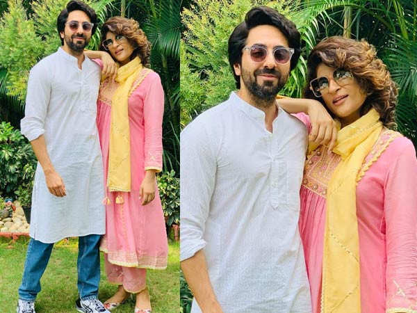 Ayushmann Khurrana and Tahira Kashyap Rock Ethnic Outfits Together