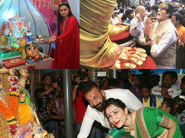 Stars who celebrate Ganesh Chaturthi in a grand way every year