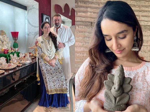 Bollywood stars celebrate Ganesh Chaturthi at their homes