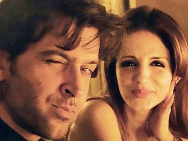 Hrithik Roshan's Reaction to Sussanne Khan's Childhood Picture is Adorable