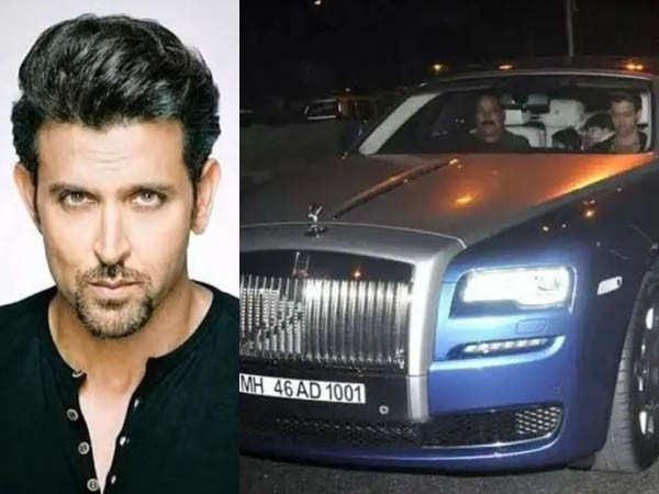 When Hrithik Roshan gifted himself a Rolls Royce