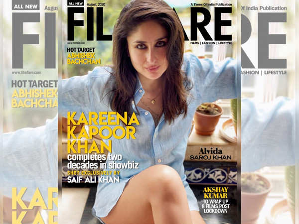 Celebrating 20 years of Kareena Kapoor Khan with Filmfare's August issue