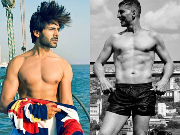 Kartik Aaryan reveals his fitness inspirations and gives some fitness tips
