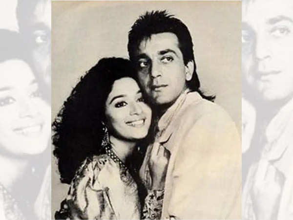 When Sanjay Dutt had to practice for 16 days to match steps with Madhuri Dixit