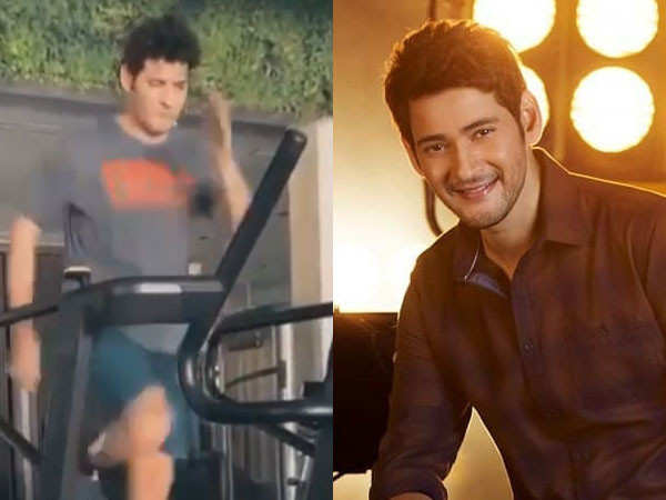 Mahesh Babu's Sweats it Out in his Home Gym and Inspires his Fans to Do the Same