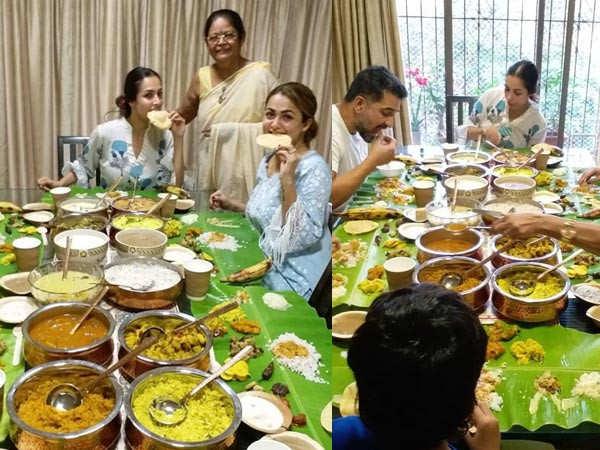 Malaika Arora celebrates Onam with her family