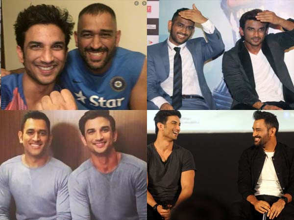 These pictures of late Sushant Singh Rajput and MS Dhoni are going viral