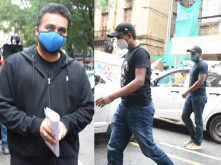 Photos: Raj Kundra and Rajat Mewati spotted at the ED office this afternoon