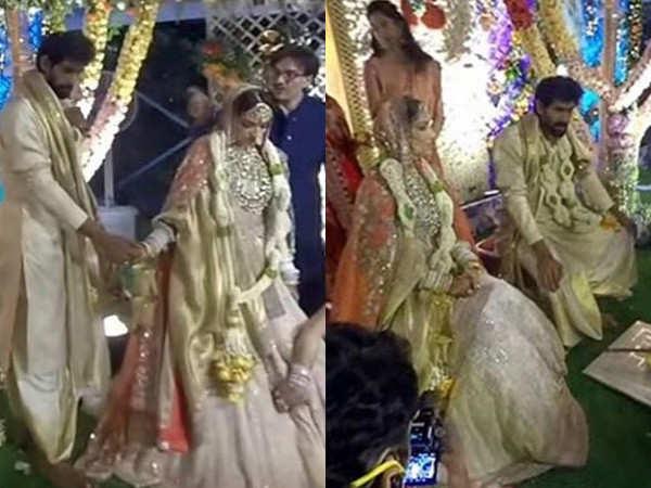 Inside pictures from Rana Daggubati and Miheeka Bajaj's wedding ceremony
