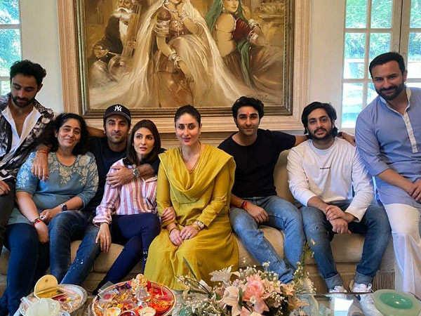 Kareena Kapoor Khan, Ranbir Kapoor and others celebrate Raksha Bandhan together