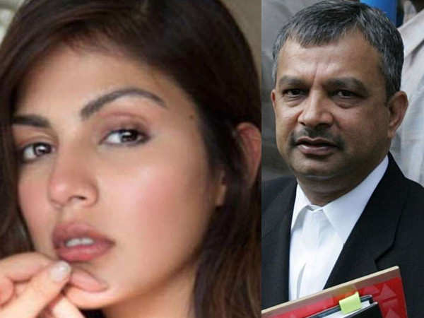 Rhea Chakraborty's lawyer breaks his silence about allegations made on the actress