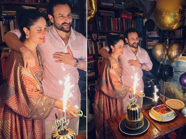 Inside pictures from Saif Ali Khan's private 50th birthday bash
