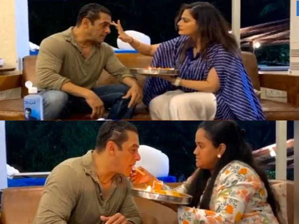 Video: Salman Khan's niece Ayat Sharma celebrates her first Raksha Bandhan