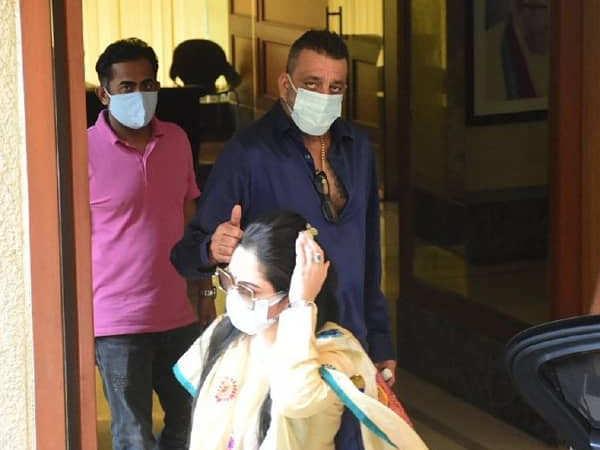 Photos: Sanjay Dutt heads to the hospital with Maanayata Dutt