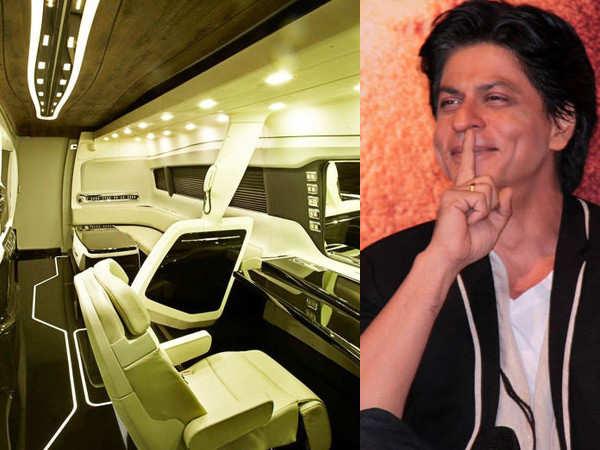 Shah Rukh Khan's vanity van has these special features
