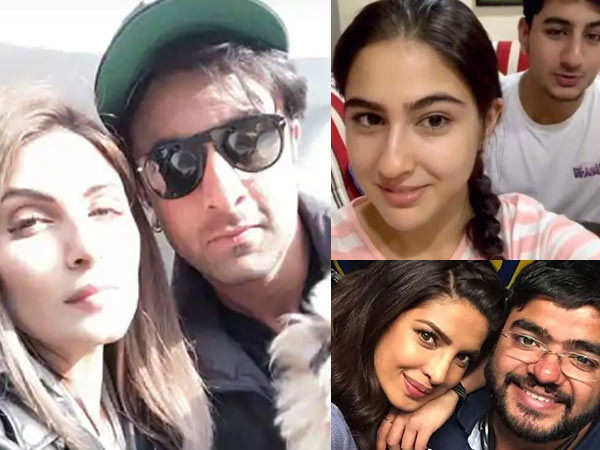 Awesome selfies of Bollywood stars with their siblings