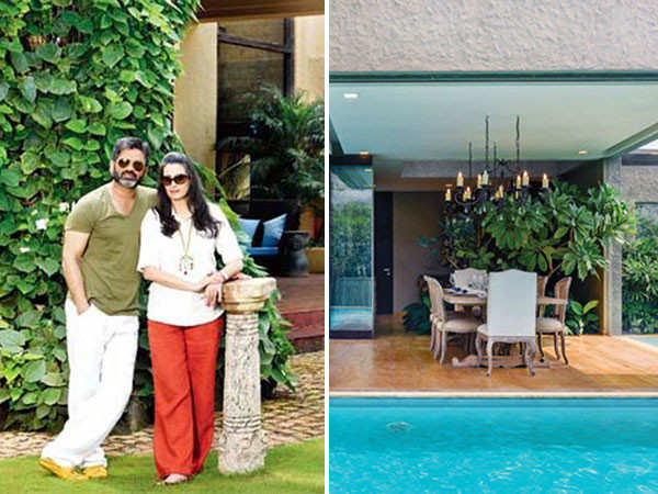 Pictures of Suniel Shetty's holiday home in Khandala