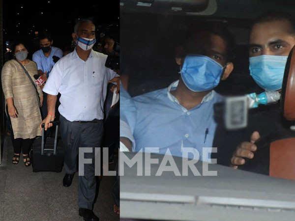 Pictures: CBI team arrives in Mumbai to probe Sushant Singh Rajput's case