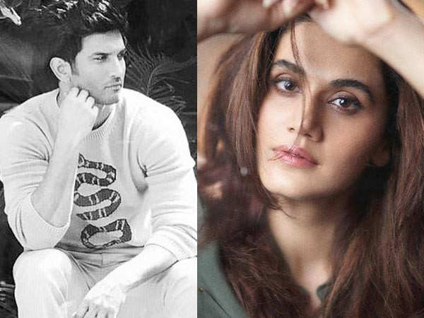 Taapsee Pannu breaks her silence on media accusing Rhea Chakraborty for Sushant's suicide
